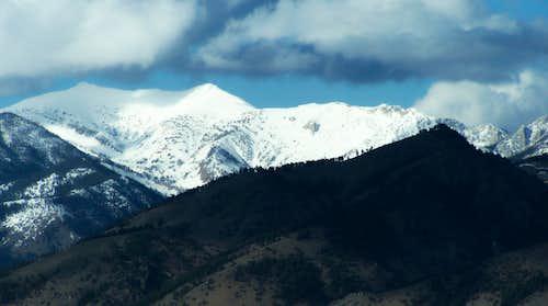 Sacagawea Peak and Naya Nuki Pk.
