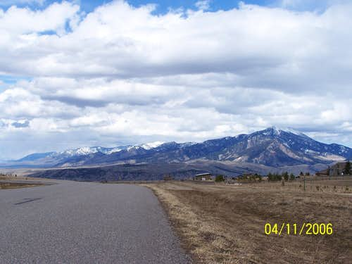 Further View of the Bridger Range