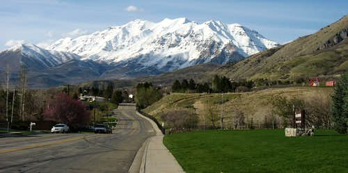Timp from Rock Canyon Park