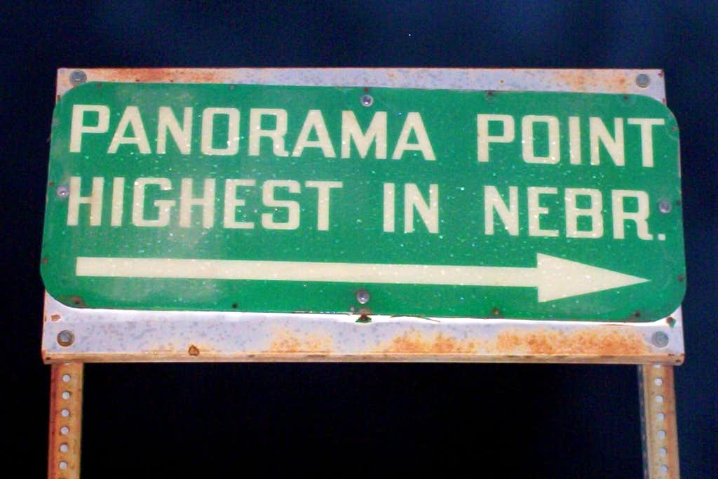NE High Point Sign
