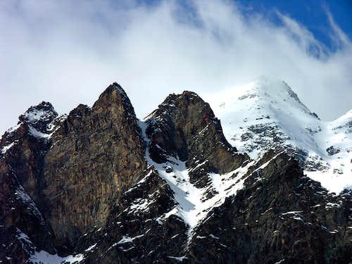 Fourquin de Bioula <i>(2965 m)</i>, SE side