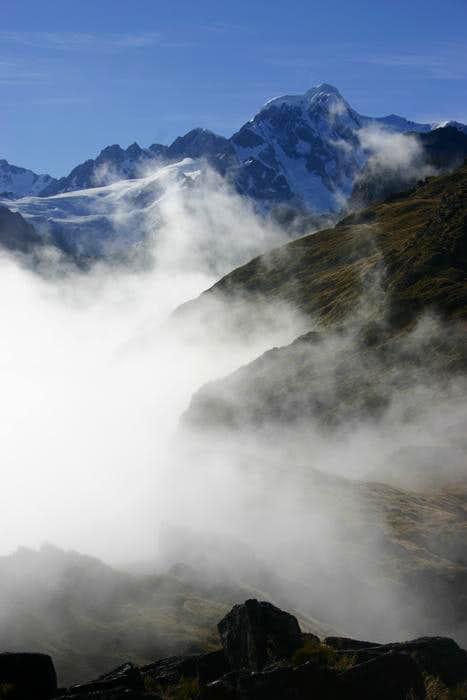 Mt. Tasman Above the Clouds