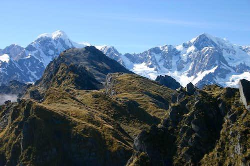 Mts. Tasman and Cook