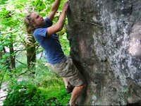 Me Climbing Dirty Pocket