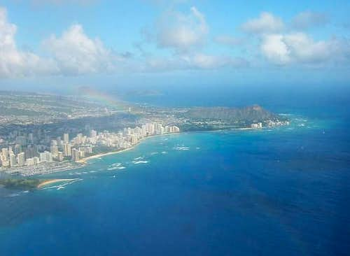 Diamond Head from the west,...