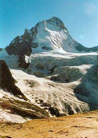 Dent Blanche with the Glacier du Cornier in front