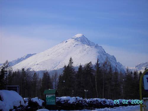 Slawkowski szczyt from Stara Lesna