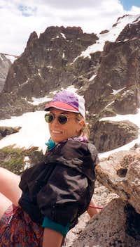 Relaxing on the Little Matterhorn