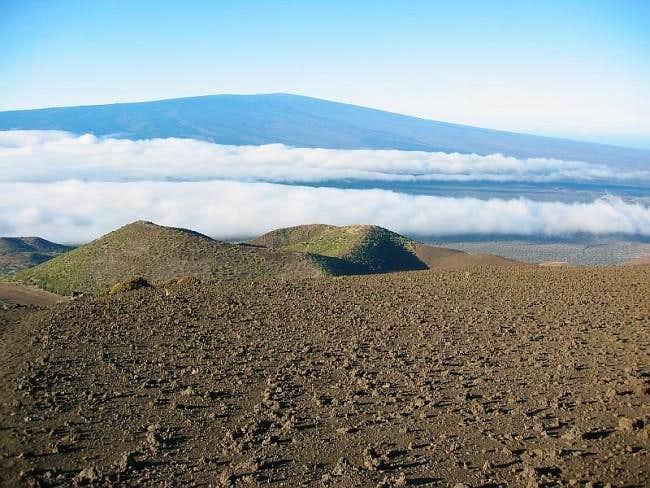 Mauna Loa viewed from 10500...