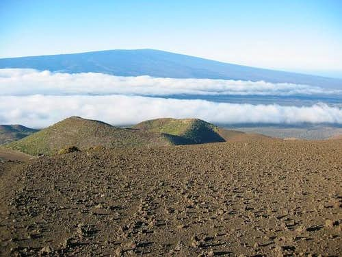 Mauna Loa viewed from 10500...