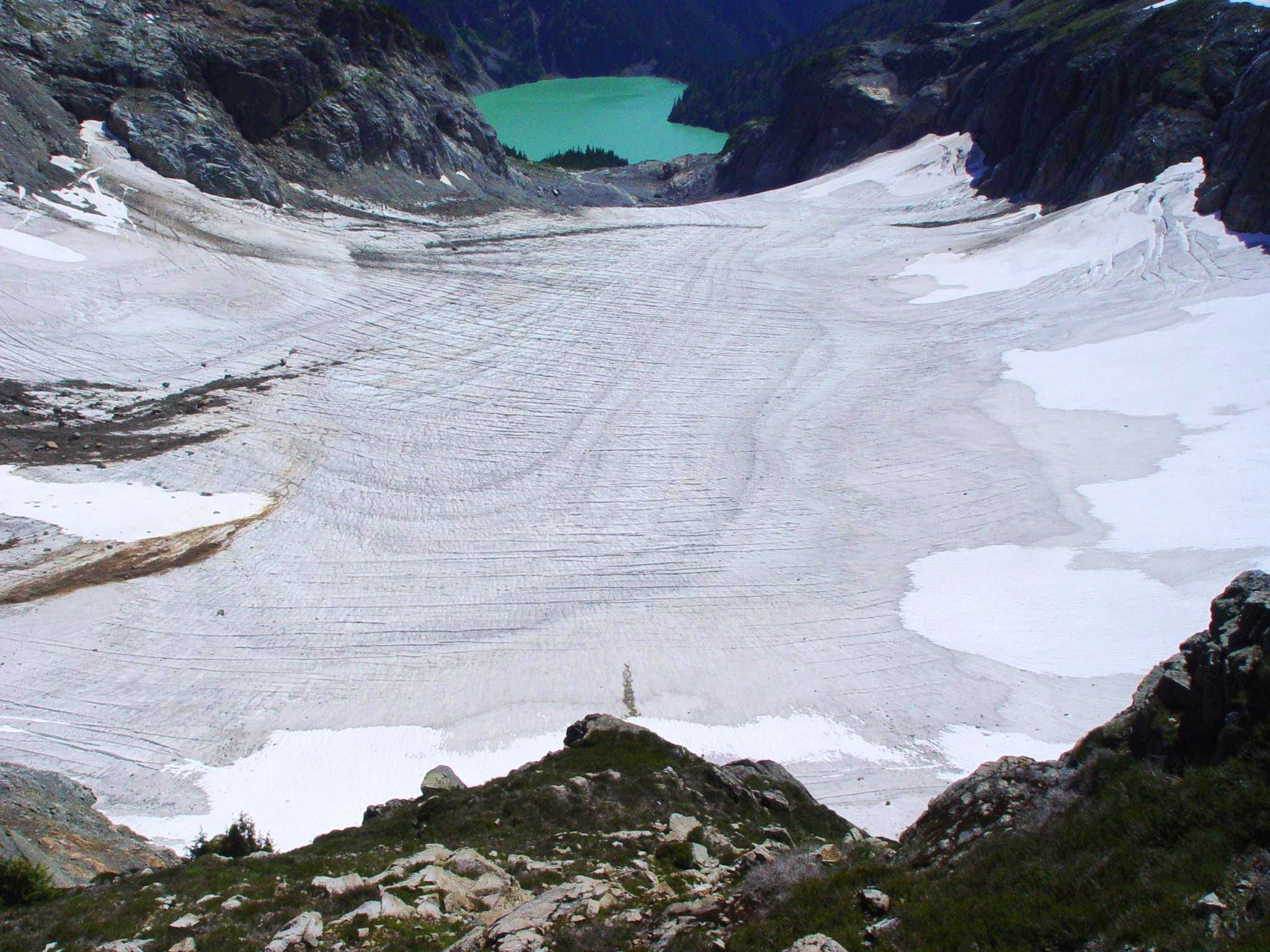 Forecasting Glacier Survival