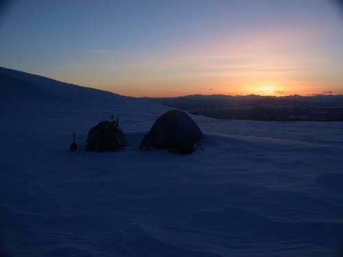 High camp at Devil\'s...