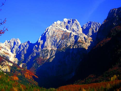 Autumn in Julian Alps