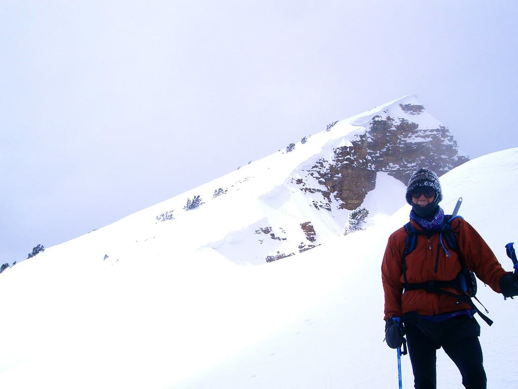 Twin Chutes Saddle and Summit Ridge