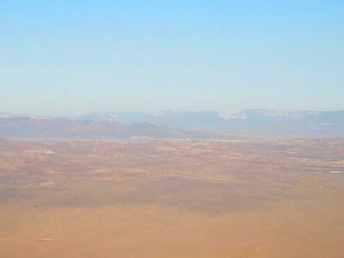 \'Area 51\' as seen from Tikaboo Peak