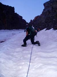 The Naked Lady Couloir