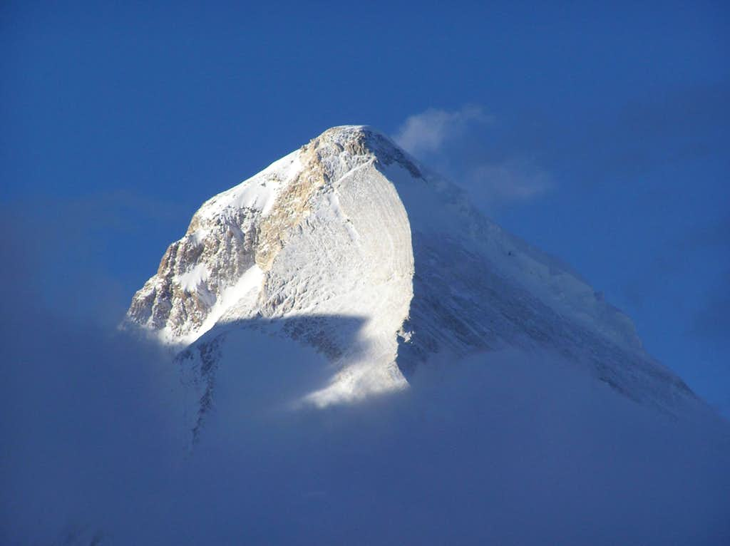 Khan Tengri's summit from BC
