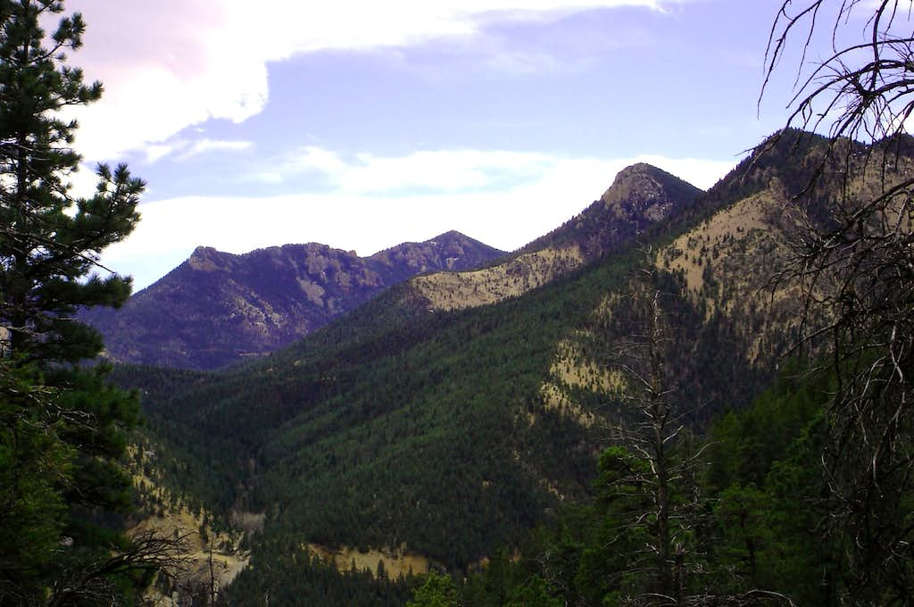 St. Peter Dome & Cookstove Mountain