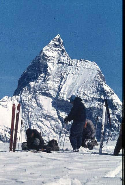 Matterhorn from west: left...