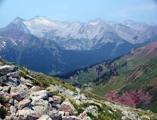 Snowmass Mountain (2nd peak...
