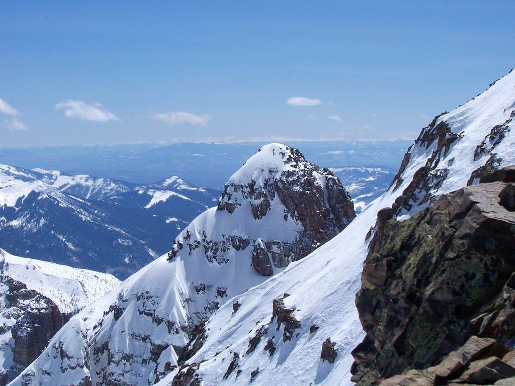 View of the Challenging South Ridge