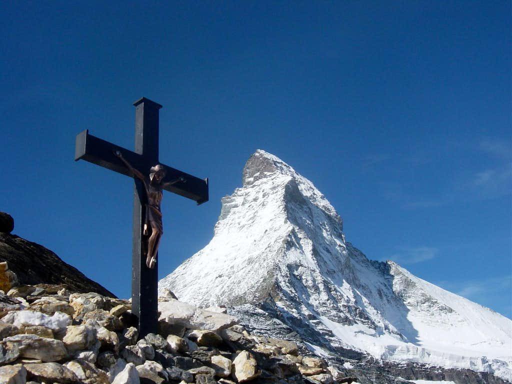 Cross and Matterhorn