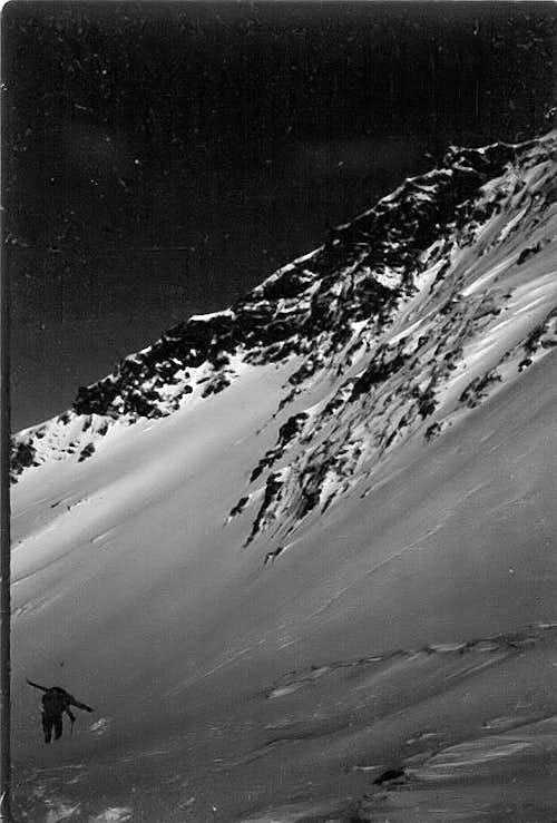 Climbing Cairn Peak