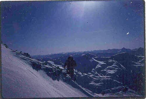 Cairn Ridge to Stikine Icefield