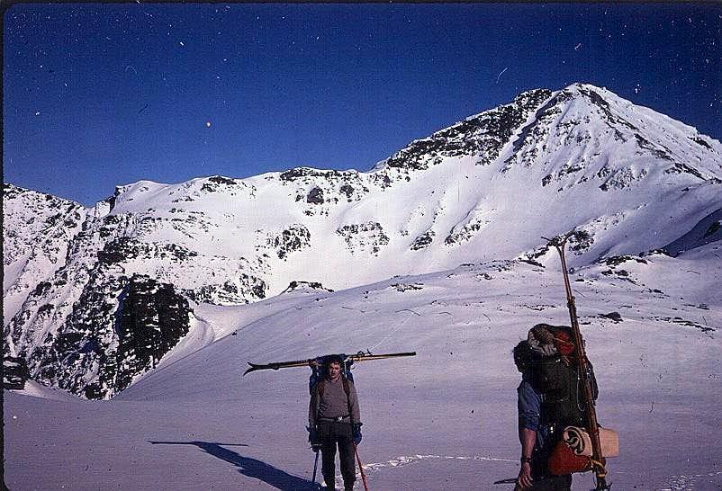 Blackerby Ridge, Cairn Peak in back.