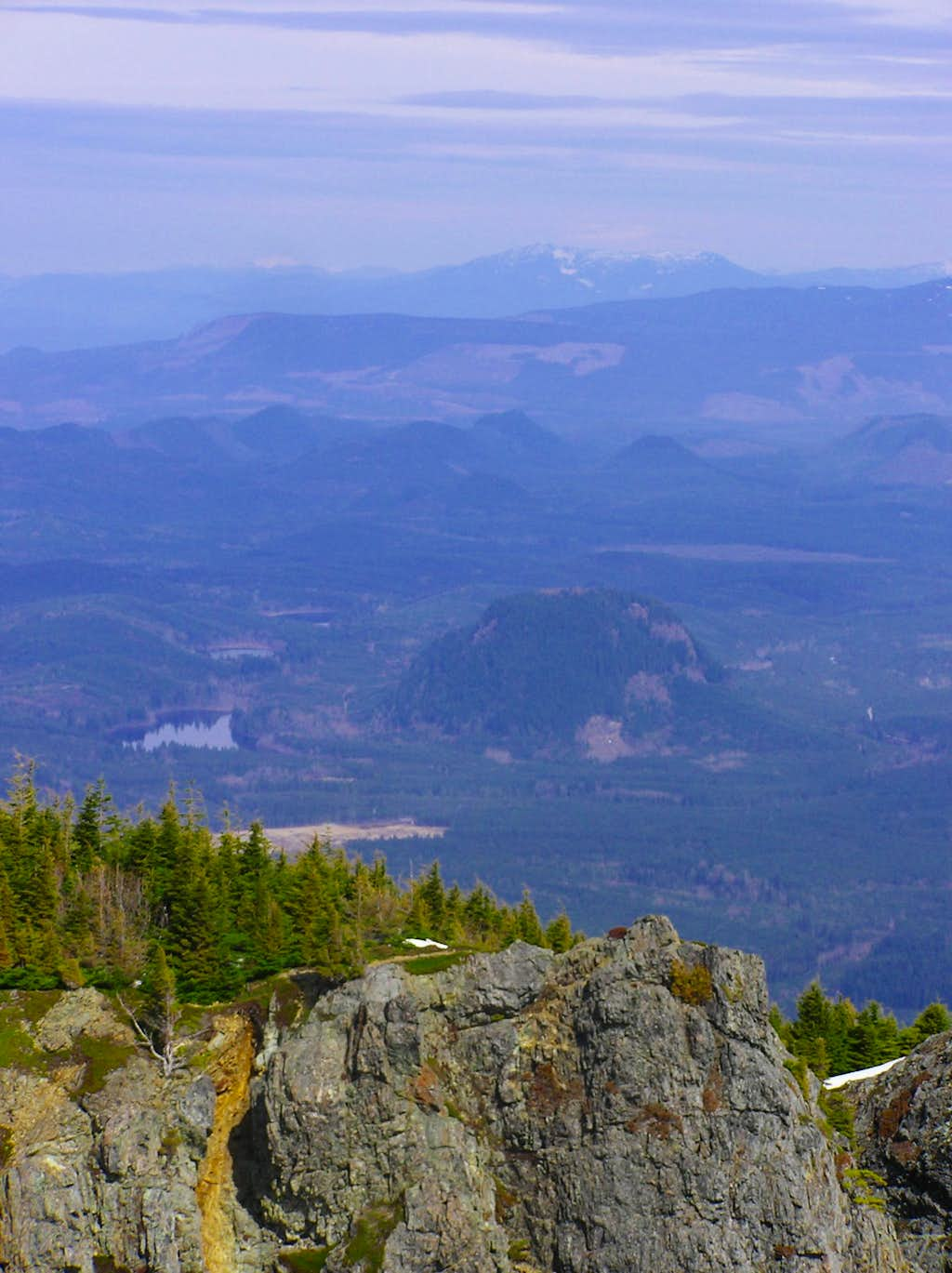 Fuller Mountain from Mt. Si