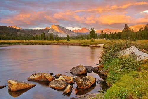 Tuolumne Meadows after the storm
