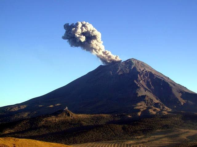 Small eruption 06 Feb 2003
