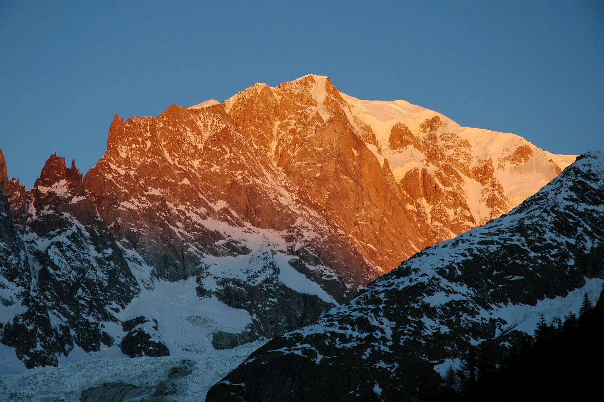 Mont Blanc at sunrise