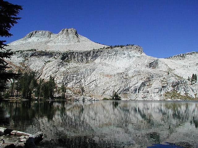Mount Hoffman's lower eastern...