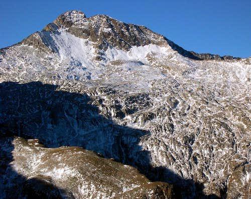 E side of Torre Lavina