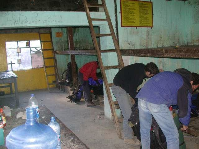 The Piedra Grande hut. Not...