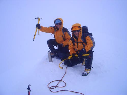 Monte Perdido's summit