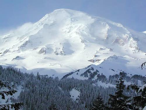 Mount Rainier on March 23,...