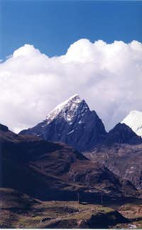 Nevado Codorsenja - 5,379 metros