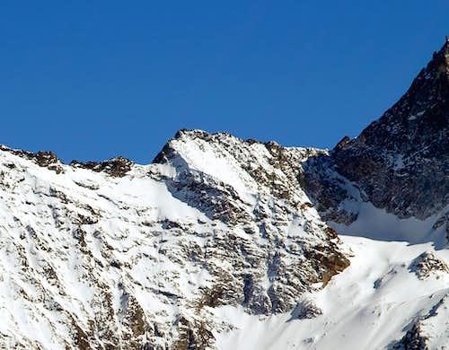 Tête Blantsette <i>(3140 m)</i>, NW side