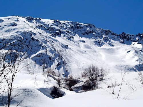 Northern side of Mont de la Tsa <i>(2742 m)</i>