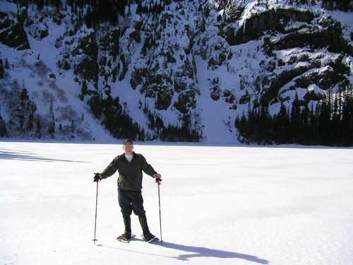 Standing ON Lake Angeles