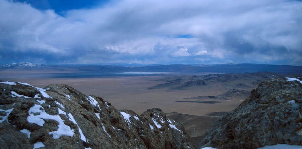 View from Zangchen ridge...