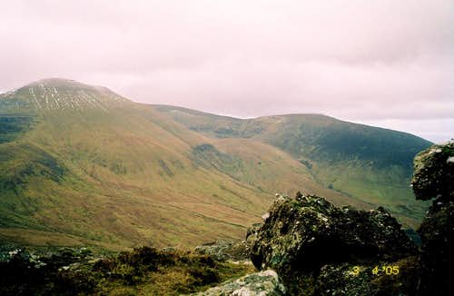 Galtymore from the northeast