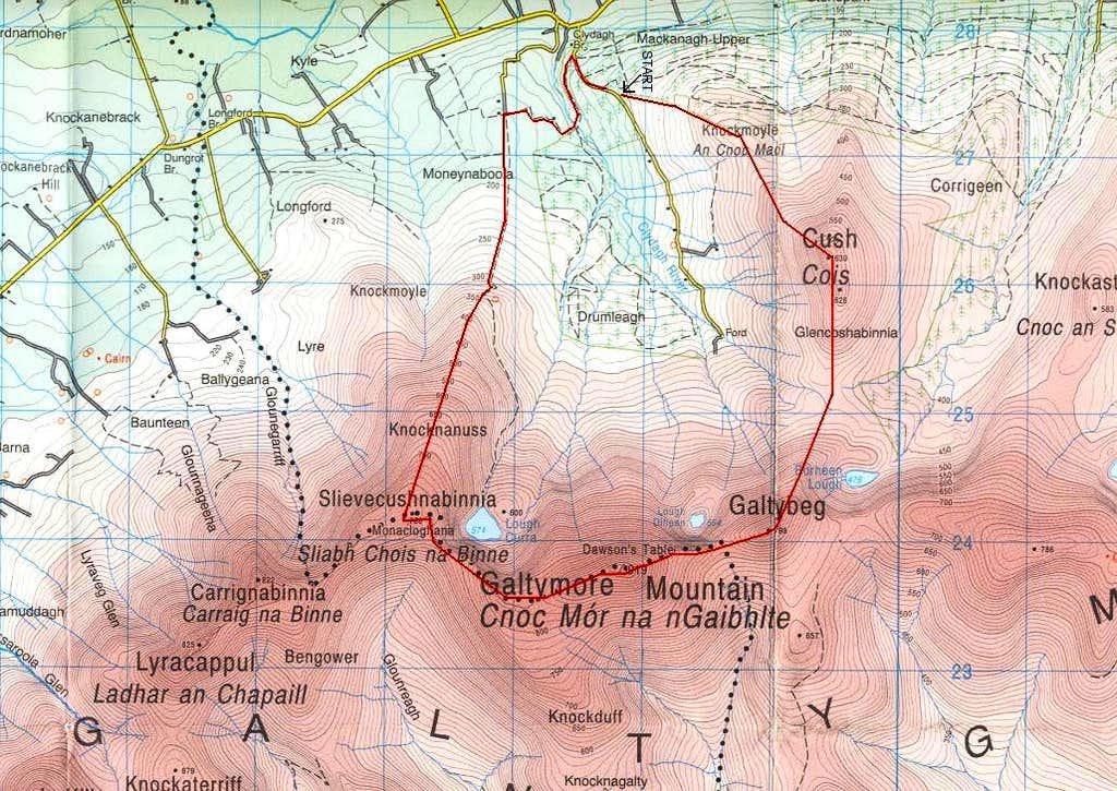 Horseshoe Route