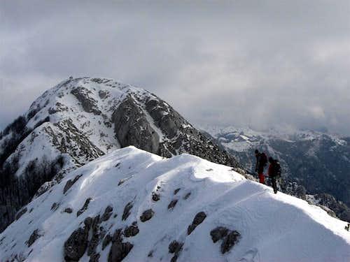 Sv. Ilija from the ridge