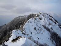 Main ridge of Biokovo