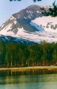 Tromsdalstind. The summer...