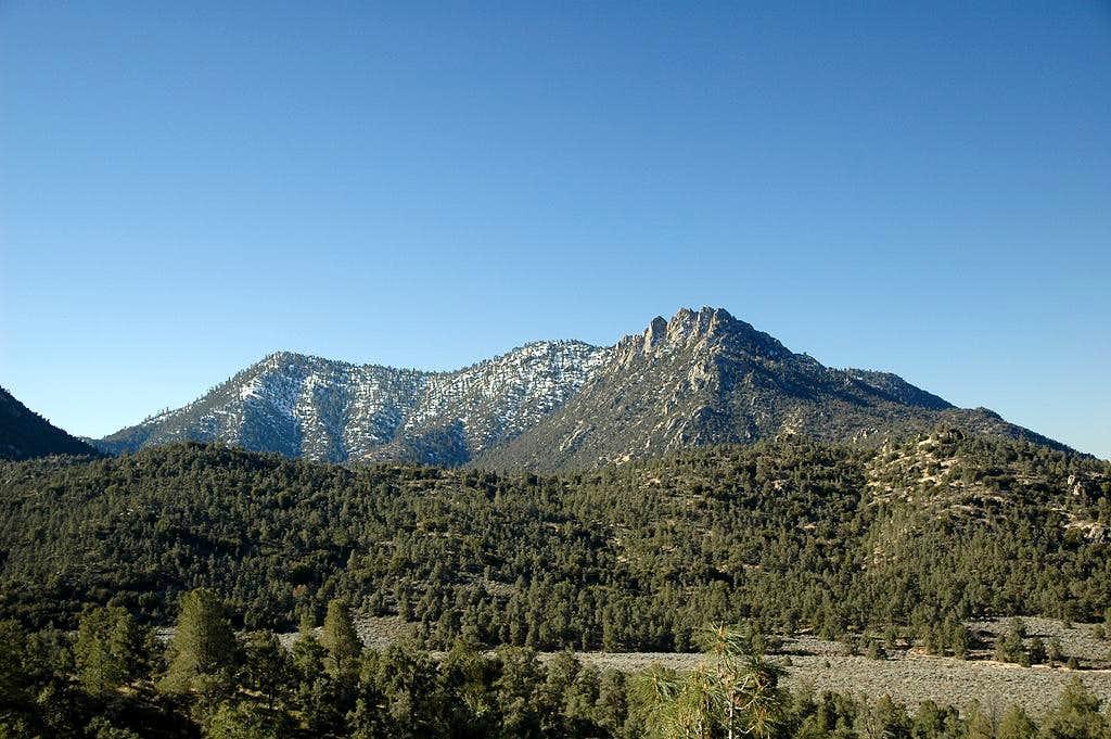 Lamont Peak from Lamont Meadow