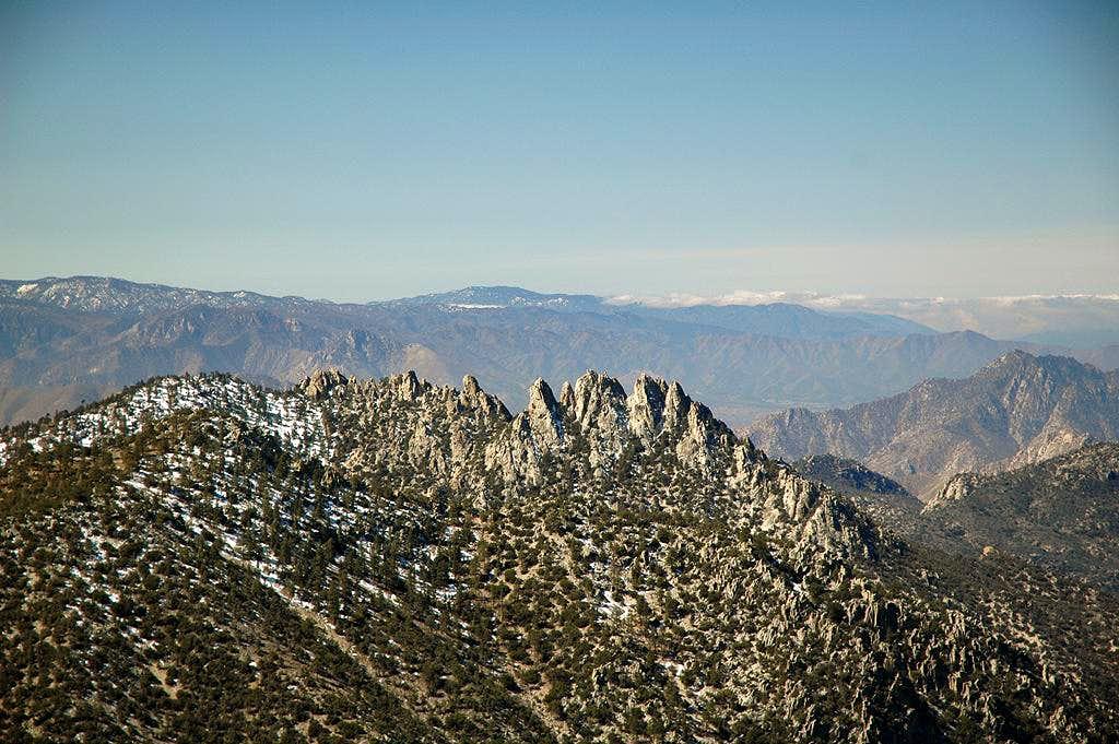 Lamont Peak pinnacles